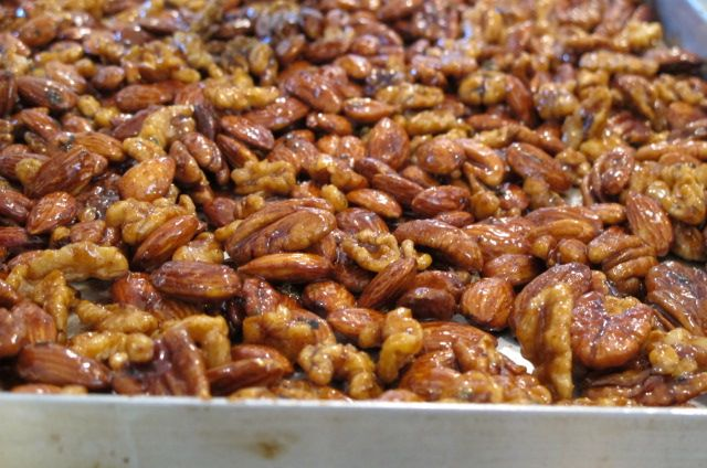 spicy nuts spicy salty sweet candied sweet salty spicy party nuts ...